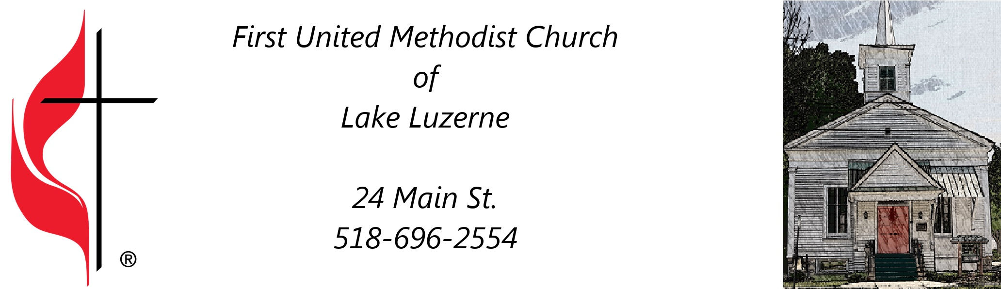 The First United Methodist Church of Lake Luzerne